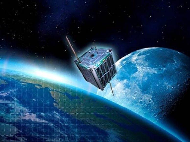 Lietuviškų palydovų startas į kosmosą