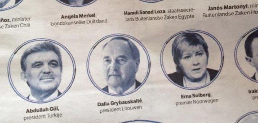 Nyderlandų laikraštis sumaišė Latvijos ir Lietuvos prezidentus