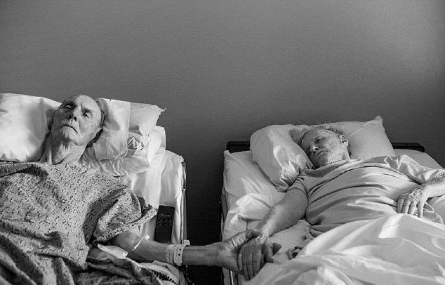 Senoliai Donas ir Maxine Simpsonai