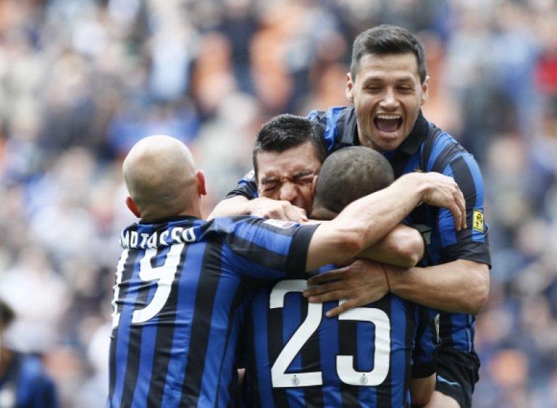 """Milano """"Inter"""" futbolininkai"""
