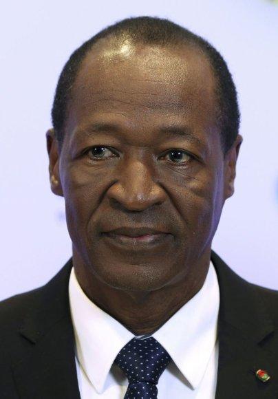 Atsistatydinęs Burkina Faso prezidentas Blaise'as Compaore'as