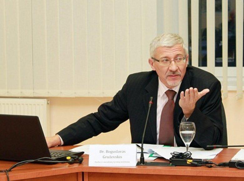Profesorius Boguslavas Gruževskis