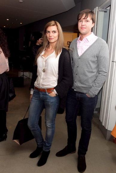 Laura Čepukaitė-Paulauskienė su vyru