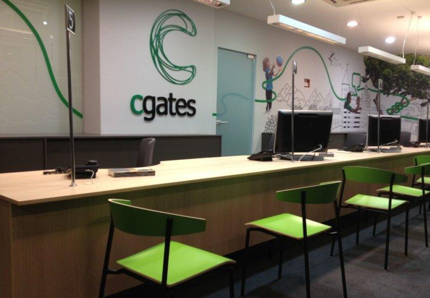 """Kaune atvėrė duris modernizuotas """"Cgates"""" klientų aptarnavimo skyrius"""