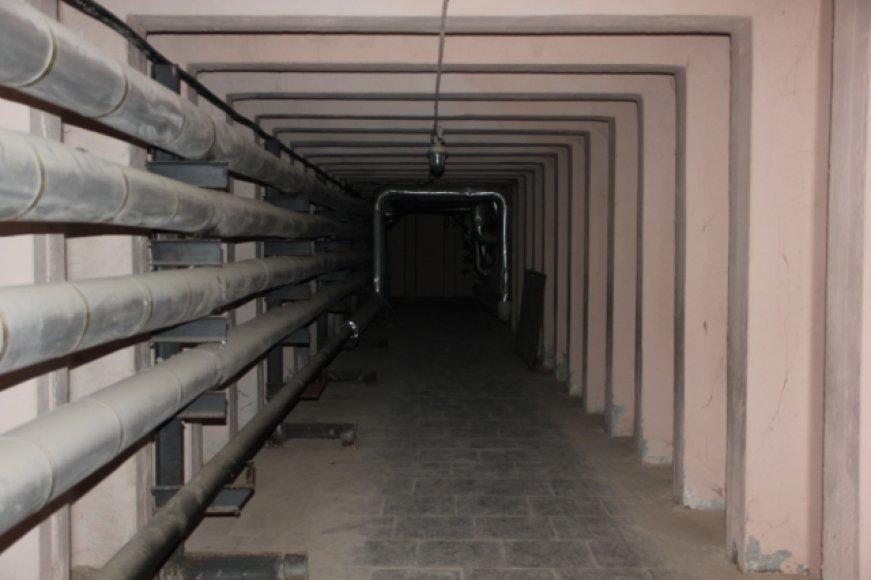 Tunelis tarp Rokiškio ligoninės ir sandėlio