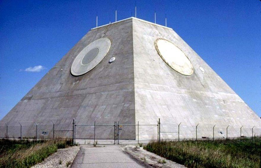 Keistoji JAV piramidė