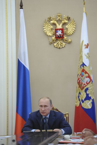 Vladimiras Putinas Rusijos Saugumo Taryboje
