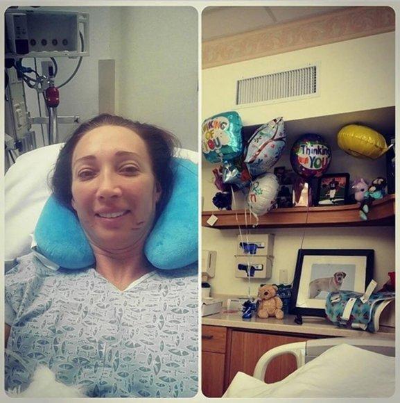 Amy Van Dyken po operacijos