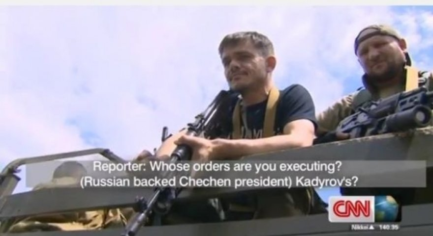 Kadyrovcai Donecke