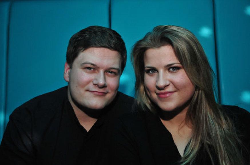 Merūnas Vitulskis ir Erika Vitulskienė
