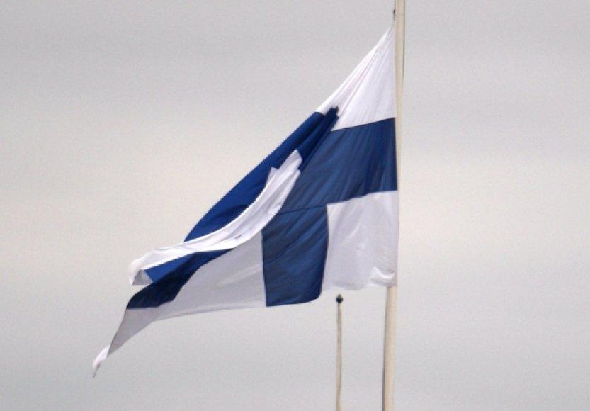 Suomijos vėliava