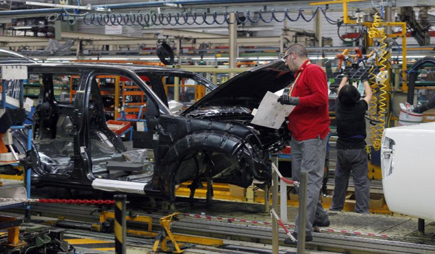 """Nissan Motor"" gamykla Barselonoje"