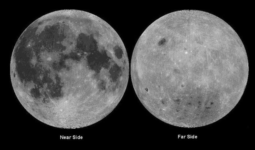 Skirtingos Mėnulio pusės
