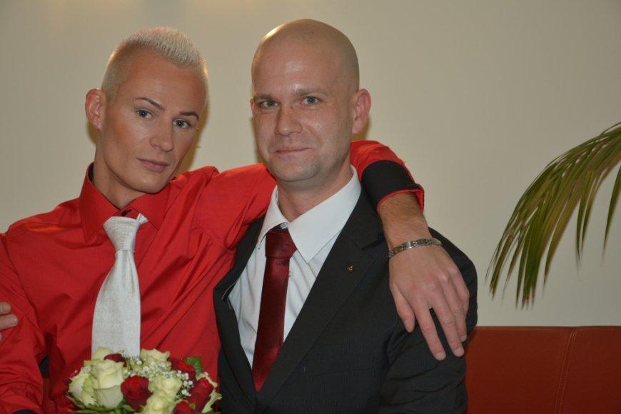 Mindaugas su savo partneriu
