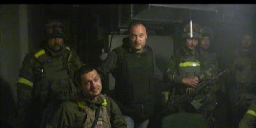 Paviešintas vaizdo įrašas, kuriame – karo zona virtęs Donecko oro uostas.