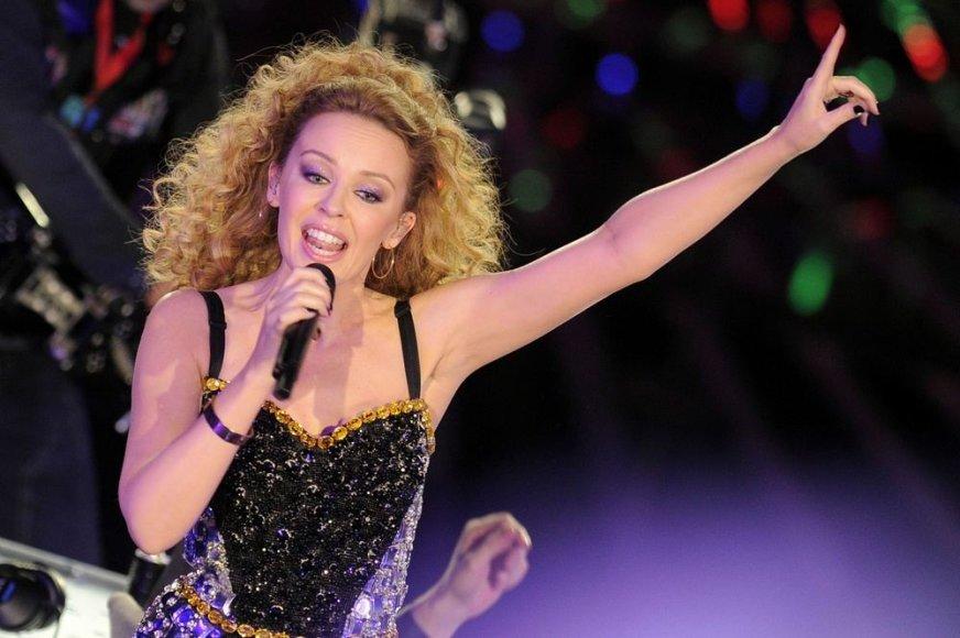 17 vieta – australų dainininkė Kylie Minogue