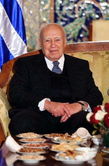 Graikijos prezidentas Karolosas Papouliasas