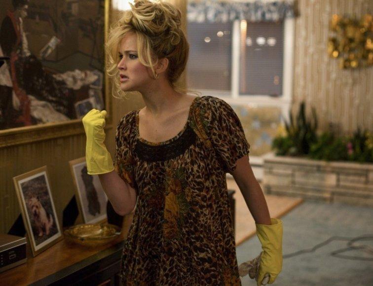 "Jennifer Lawrence filme ""Amerikietiška afera"""