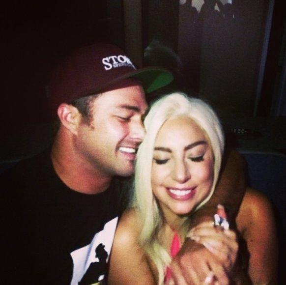 Lady Gaga ir Tayloras Kinney