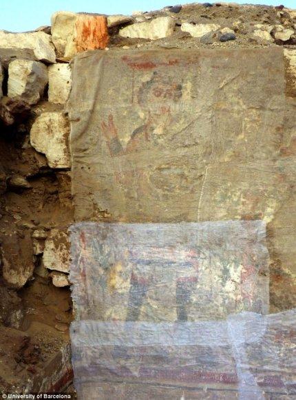 Spėjama, kad Senovės Egipto kapavietėje rastas seniausias Jėzaus paveikslas