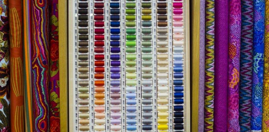"""""""Litexpo"""" vyksta tarptautinė paroda """"Baltijos tekstilė ir oda""""."""