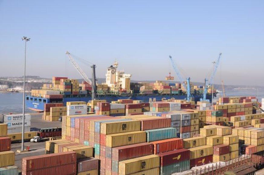 Uosto vadovybei nepatinka Vyriausybės planai atimti pusę pelno.