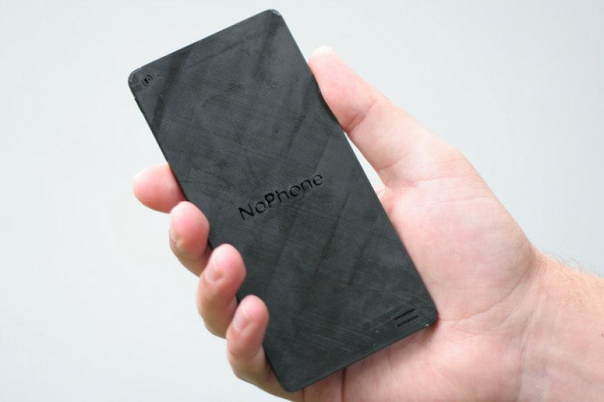 """Už dvylika dolerių parduodamas plastmasinis telefonas """"NoPhone"""""""
