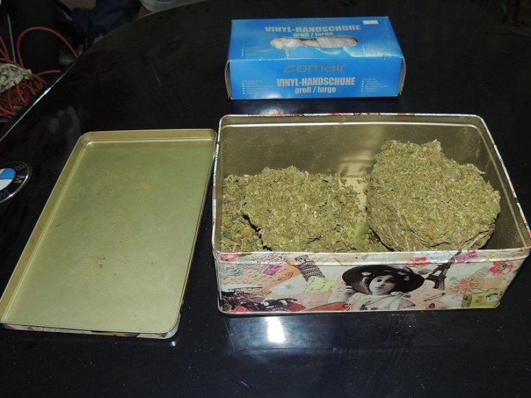 Šilalėje sučiupti narkotikų prekeiviai