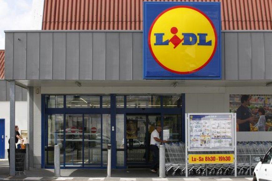 """""""Lidl"""" parduotuvė"""