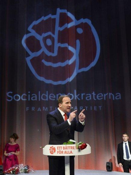 Švedijos socialdemokratų lyderis Stefanas Loefvenas