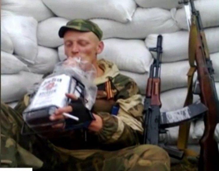 Teroristas Luhanske