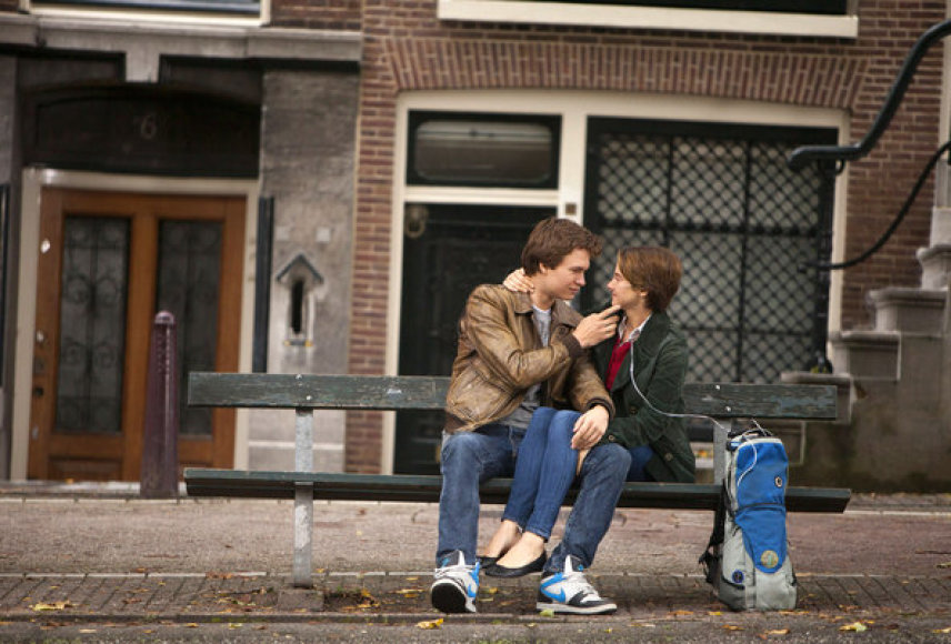 "Scena iš filmo ""The Fault in Our Stars"""