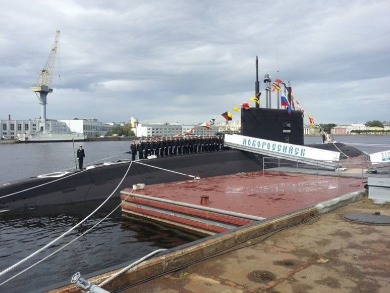"Rusijos povandeninis laivas ""Novorossijsk"""