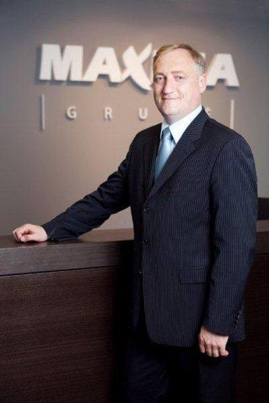 """UAB """"Maxima grupės"""" generalinis direktorius Mindaugas Bagdonavičius"""