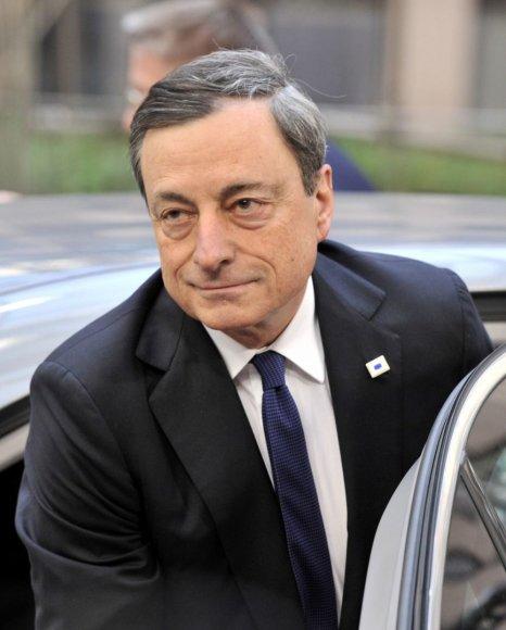 Europos Centrinio Banko prezidentas Mario Draghi
