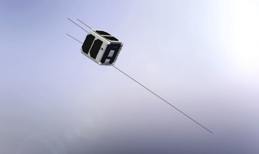 "Palydovo ""LituanicaSAT-1"" vizualizacija"