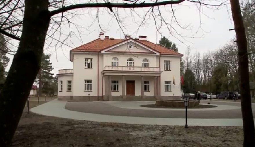 Užugirio kiemu vadinamas Lietuvos prezidento Antano Smetonos dvaras.