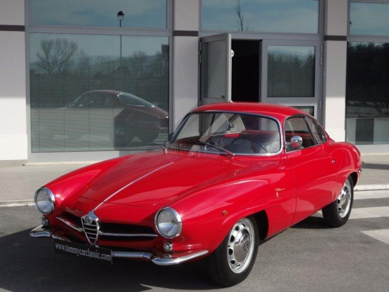 "Italijoje parduodama ""Alfa Romeo Giulietta SS"""