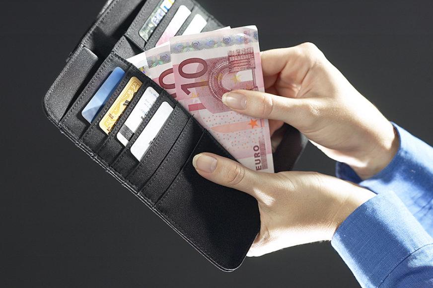 Eurai piniginėje