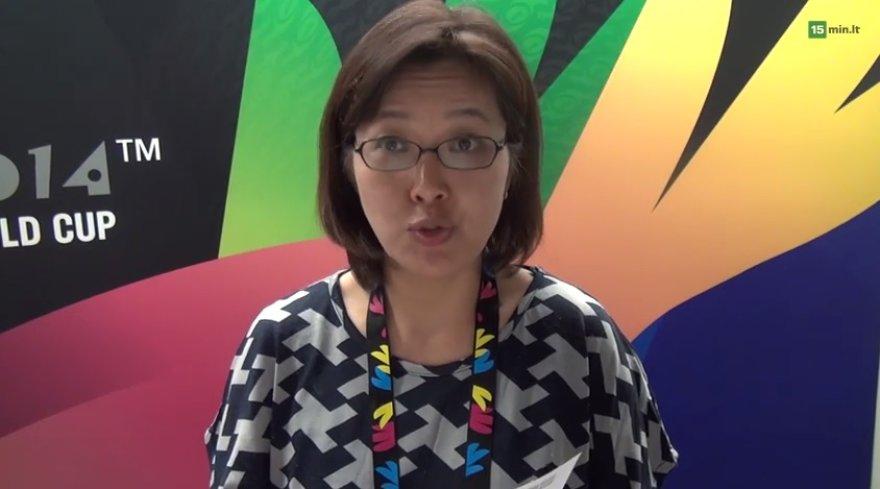 Pietų Korėjos žurnalistė Kangja Park