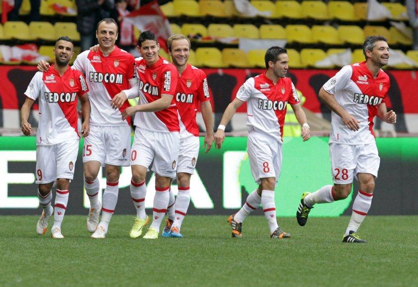 """""""Monaco"""" futbolininkai"""