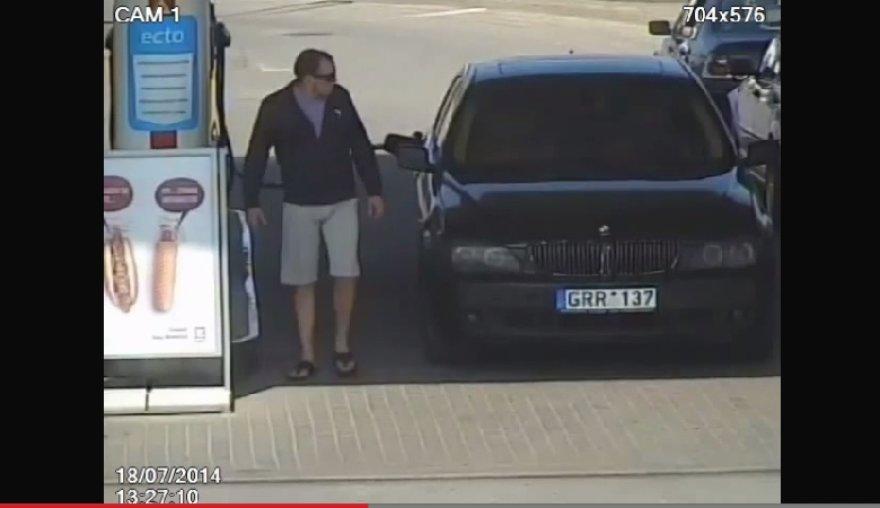 Degalų vagystė: įtariamasis ir BMW su netikrais numeriais