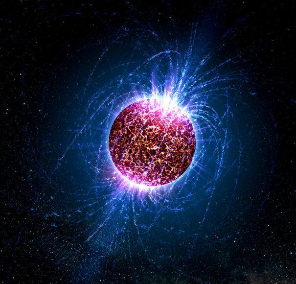 Neutroninė žvaigždė menininko akimis