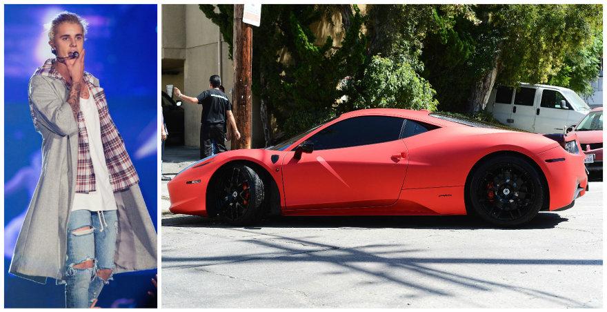 """Justino Bieberio """"Ferrari 458 Italia"""""""