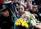 """� Ukrain� sugr��usi """"Eurovizijos"""" nugal�toja Jamala sutikta kaip didvyr�"""