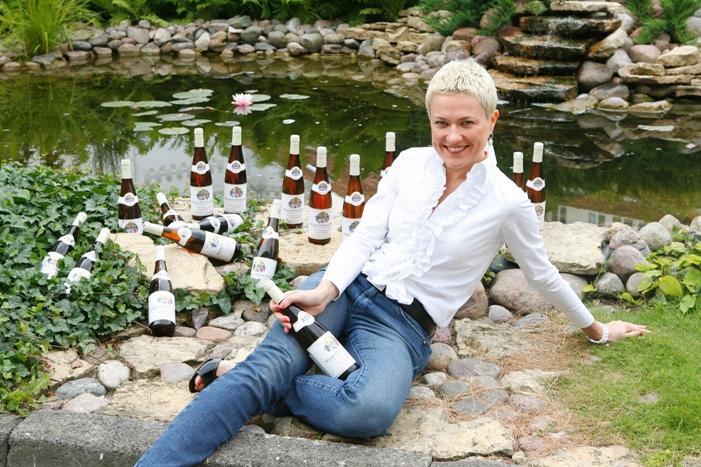 Foto naujienai: Rasai Martens - aštuoniolika butelių vyno
