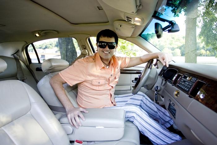 Foto naujienai: Naujas Ryčio Cicino limuzinas