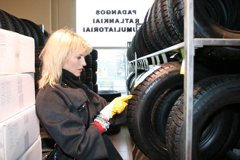 Foto naujienai: Gabrielė Bartkutė roges ruošia žiemą!