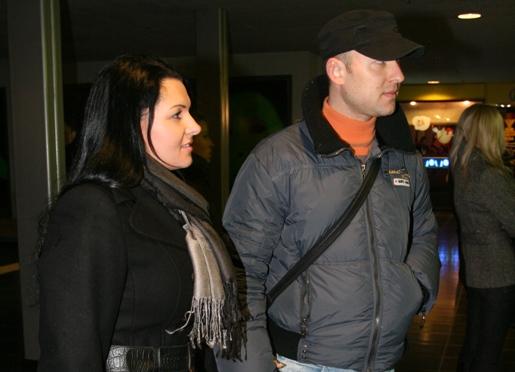 Foto naujienai: Milisandra Kvaracejūtė ir Algirdas Radzevičius turės vaikelį