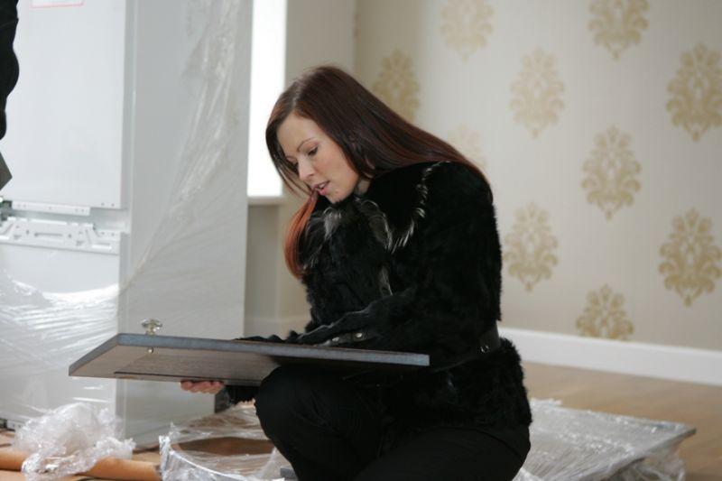 Foto naujienai: Justė Milušauskienė įsirenginėja būstą